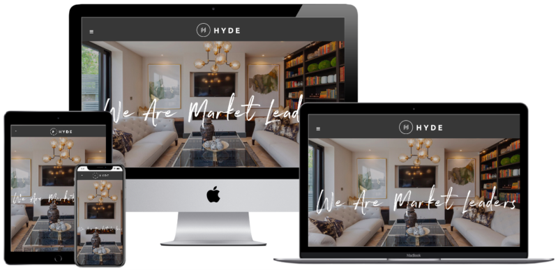 interior design website design agency dublin
