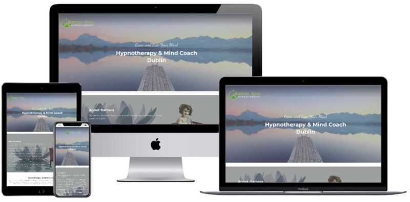 hypnotherapist website design agency dublin